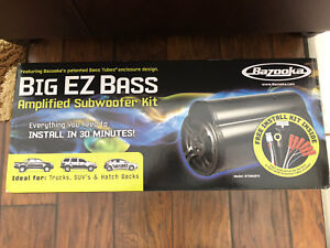 Brand new Bazooka bass tube with built in amp