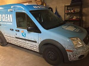 2010  Ford transit cargo low milage