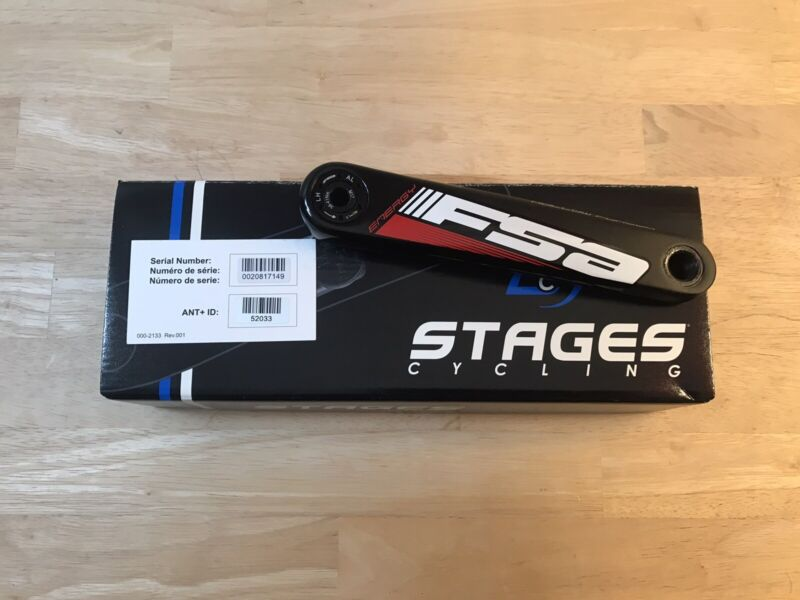 Stages Cycling Gen 2 Power Meter - FSA Energy, 165mm Length, Mega Exo BB