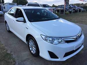 2015 Toyota Camry  Hybrid  WHITE AND SILVER******2013 and 2014 in Greta Cessnock Area Preview