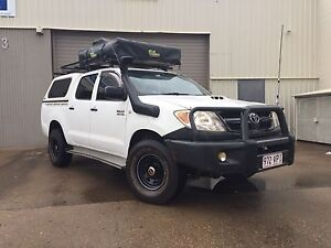 2007 Toyota Hilux 4x4 Idalia Townsville City Preview