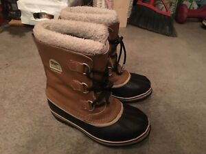 Size five youth brown Sorel boots $70.00