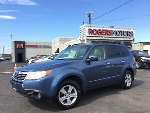 2010 Subaru Forester 2.5X - 5SPD - PANO ROOF - HTD SEATS