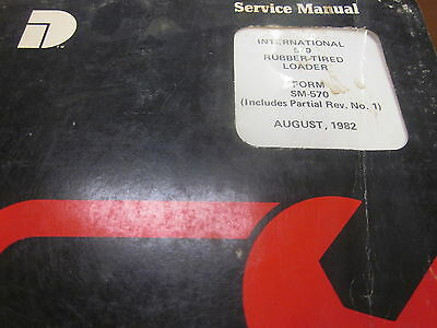 Dresser International 570 Wheel Loader Service Manual