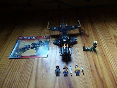 Lego Ninjago 70747 Boulder Blaster Complete Set Cole