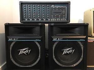 Peavey PA system. Harrison Gungahlin Area Preview