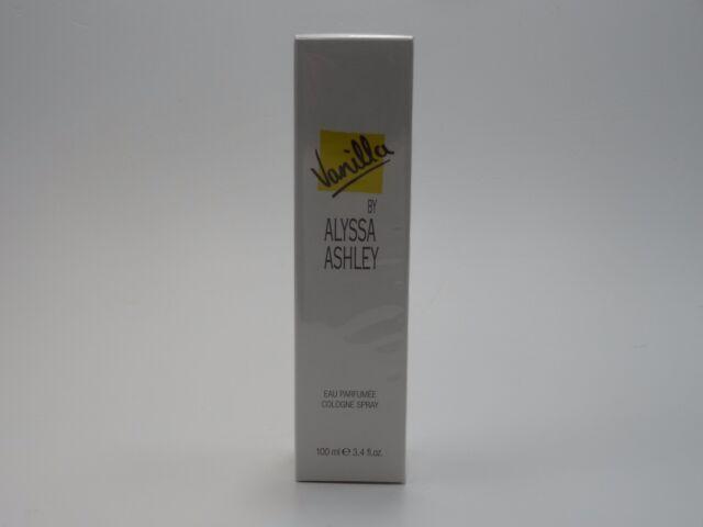 VANILLA 100ml EAU PARFUMEE COLOGNE SPRAY BY ALYSSA ASHLEY