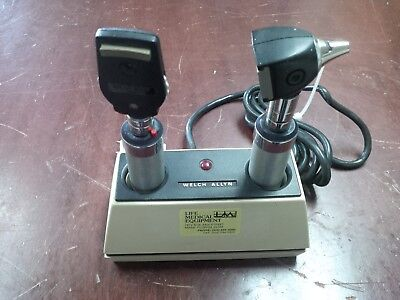 Welch Allyn Ophthalmoscope Otoscope Diagnostic Set With Charger Miami
