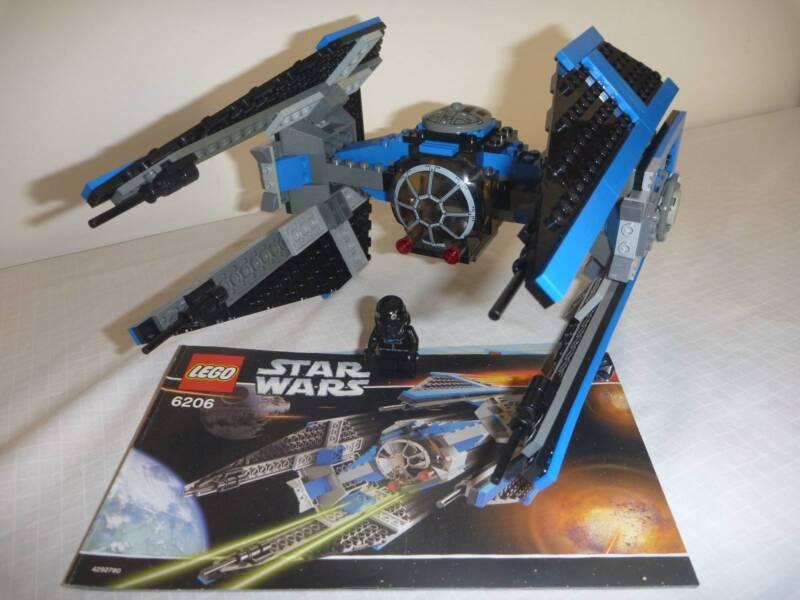 Lego Star Wars Tie Interceptor Set 6206 Complete Instructions Toys