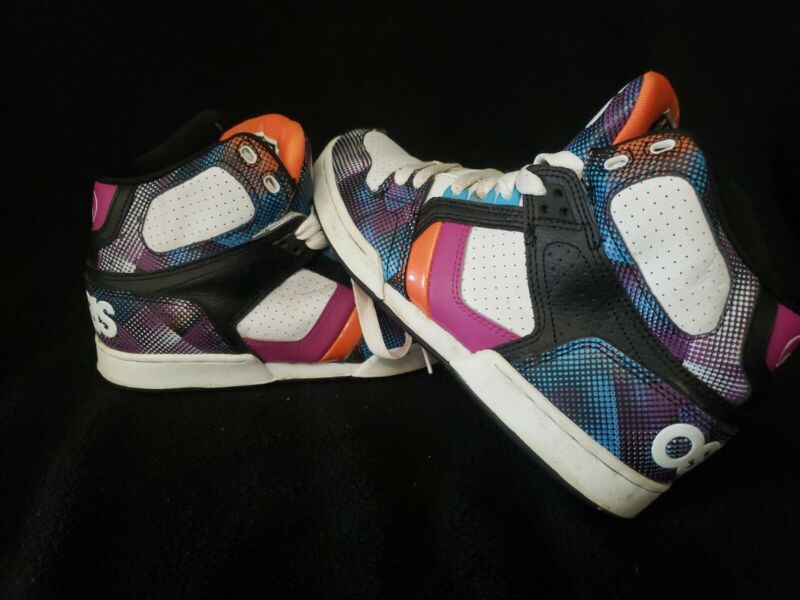 Vintage Osiris Shoes Women sz. 9 Skateboard Style NYC 83 slim girls