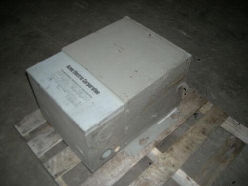 Acme Electric 15 KVA Encapsulated Distribution Transformer 480-240 Pri 240-120