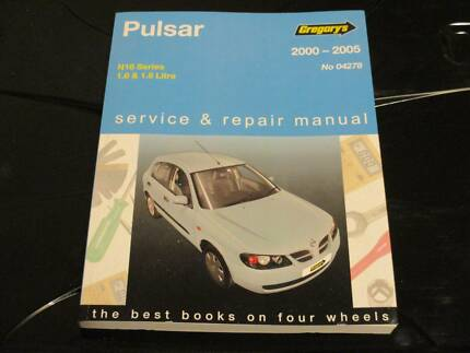 GREGORYS NISSAN PULSAR N16 2000-05 SERVICE & REPAIR MANUAL-#04278 Smithfield Parramatta Area Preview