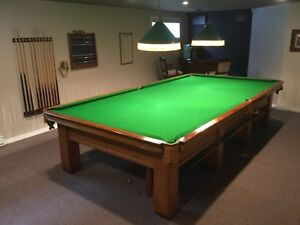 Table Snooker 6'x12' Burroughes & Watts