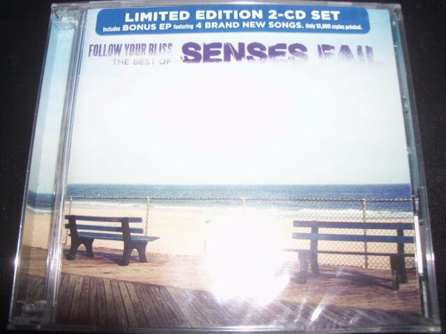Senses Fail Follow Your Bliss Best Of Limited 2 CD With Bonus EP – New