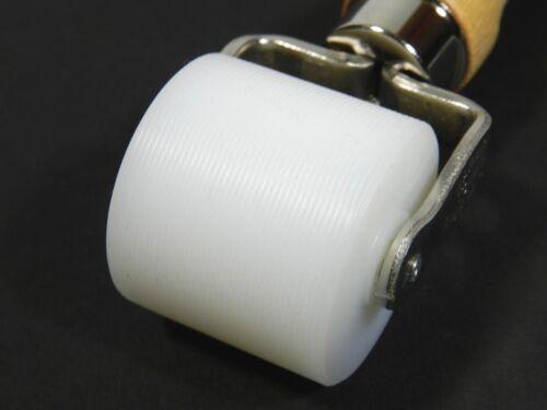 "Wallpaper Seam Roller Nylon Double Bracket 1"" Inch"