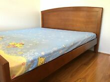 Solid Timber King Size Bed for Moving Sale! North Willoughby Willoughby Area Preview