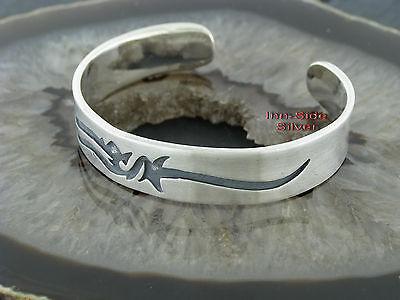 Armspange Armband Motiv TRIBAL Silber 925 Silberarmspange Tattoostyle Bracelet