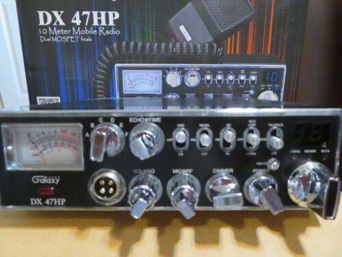 GALAXY DX47HP 100 WATT AM/FM PRO TUNED WITH FREQUENCY ALIGNMENT
