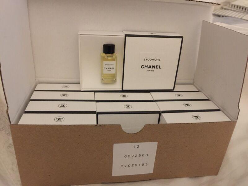 Les Exclusif De Chanel Sycomore Edp Splash Miniature - Box Of 12 BNIB