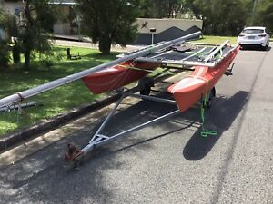 12ft hobbie cat $300