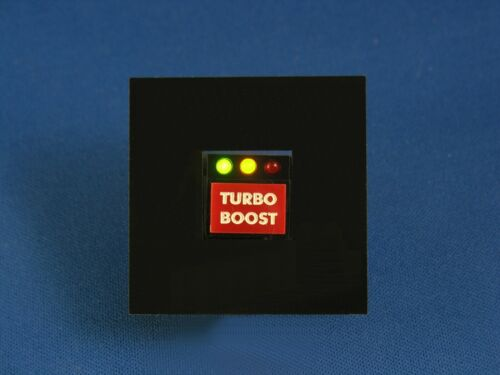 Knight Rider KITT TURBO BOOST Button - Individual