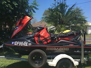 SEADOO JETSKI SUPERCHARGED RXT Macquarie Fields Campbelltown Area Preview