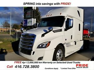 2018 Freightliner CASCADIA LOW KMs  OFF LEASE