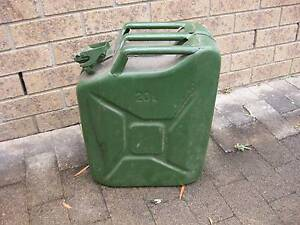 Green Jerry can 20LT (Metal) Pambula Bega Valley Preview