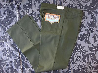 NWT vtg Levi's 517 Saddleman Boot Jeans Corduroy slacks 40 X 34 Deadstock 70s 80