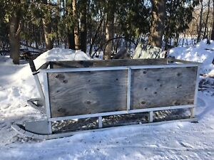 Pull behind sleigh