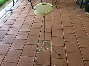 Drum Practice Pad with stand Albert Park Charles Sturt Area Preview