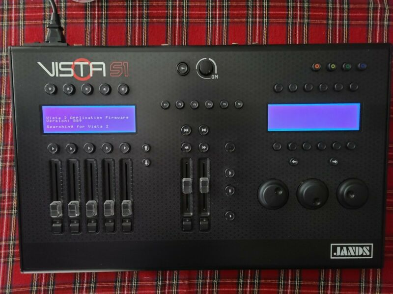 Jands Vista S1 Control Surface Lighting Control (Console ONLY)