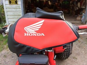 Honda 250 Leather Padded Gas Tank Cover (Sell/Maybe Trade)