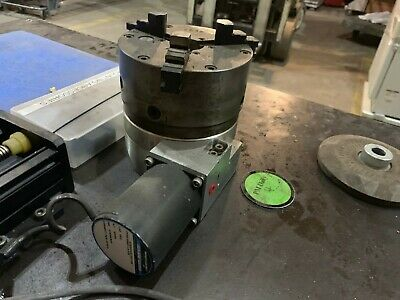 Velmex Unislide Rotary Table With Buck Forkardt 5 Chuck