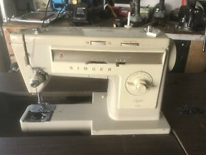 Singer sewing machine foldable
