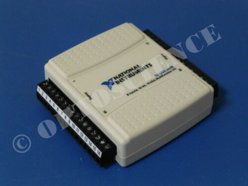 National Instruments USB-6008 Data Acquisition Device, NI DAQ, Multifunction
