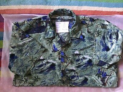 Vintage Hawaiian shirt extra large polyester