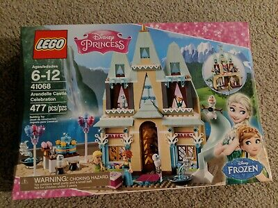 New Disney Princess Frozen Lego Arendelle Castle Celebration - Elsa, Anna, Olaf