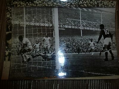 1966 world Cup Original Press Photograph- BRAZIL v HUNGARY  at Goodison Park