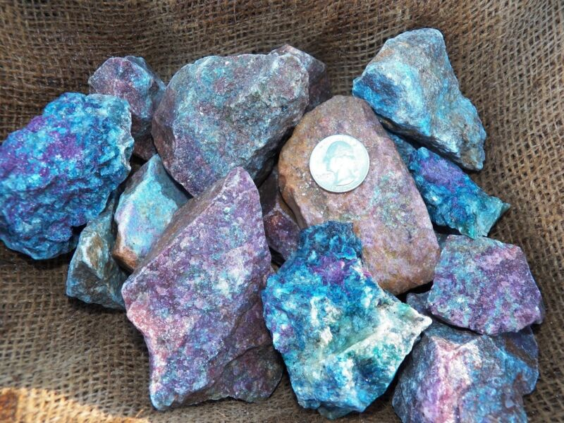5000 Carat Lots of Ruby/Sapphire Rough- Plus a FREE Faceted Gemstone