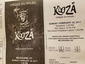 Kooza - Cirque Du Soleil Officer Cardinia Area Preview