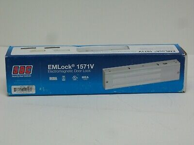 Sdc 1571v Emlock Magnetic Lock Surface Mount Single 1200lbs Aluminum