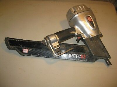 Grip Rite Grtfc83 30 -34 Degrees Framing Nailer Air Tool For Parts Or Repair