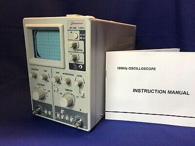 Sinometer St-16c 10 Mhz Bench Oscilloscope New Other