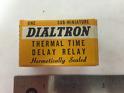 Dialtron Thermal Time Delay Relay Fr11560s