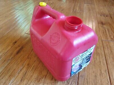 Blitz 1 Gallon 4 Ounce Vented Gas Can Model 11805 Container Only No Spout