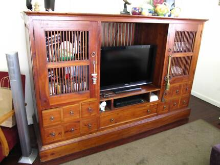 Living Room Wall Unit/Display | Bookcases & Shelves | Gumtree ...