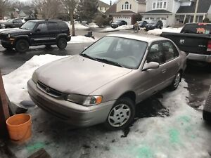 2002 Toyota Corolla part out