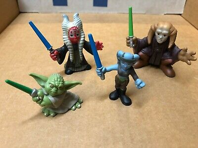 Star Wars GALACTIC HERO LOT OF 4 Figures inc AAYLA SECURA, SHAAK TI, SAESEE TINN