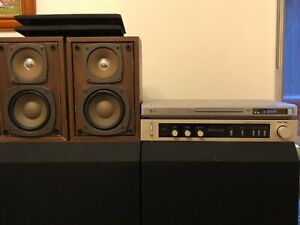 Vintage Rotel RA 820 Amplifier   Videoton 1312A Speakers